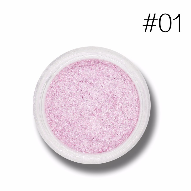 Beauty Essentials Creative Love Alpha 13 Colors Eye Shadow Flash Powder Super Bright Pearl Shining Bright Glitter Powder Pink Diamond Brand Makeup