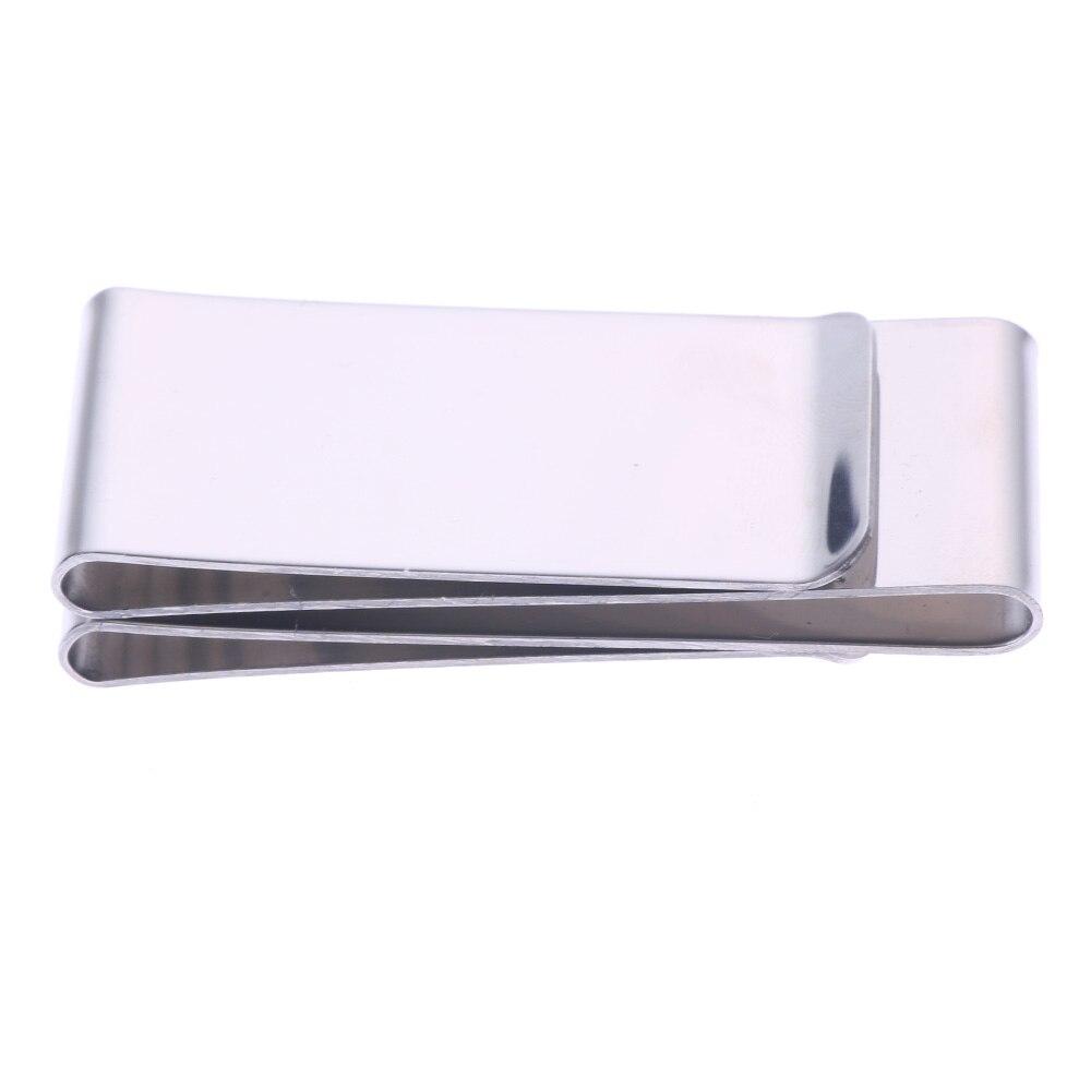 все цены на Stainless Steel Silver Color Slim Money Clip Purse Wallet Credit Card ID Holder онлайн