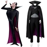 Hotel Transylvania 3: Summer Vacation Dracula Cosplay Costume Outfit Adult Men Halloween Carnival Costumes
