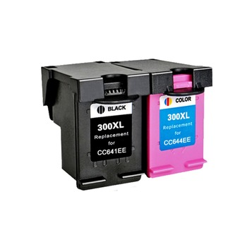 YLC 1 комплект 300XL совместимый чернильный картридж для HP300 XL для HP Deskjet D1660 D2560 D2660 D5560 F2420 F2480 F2492 F4210 принтер