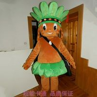 Indian Man Mascot Costume Suits Cosplay Party Game Outfits Clothing Advertising Carnival Halloween Xmas Easter Festival Adults