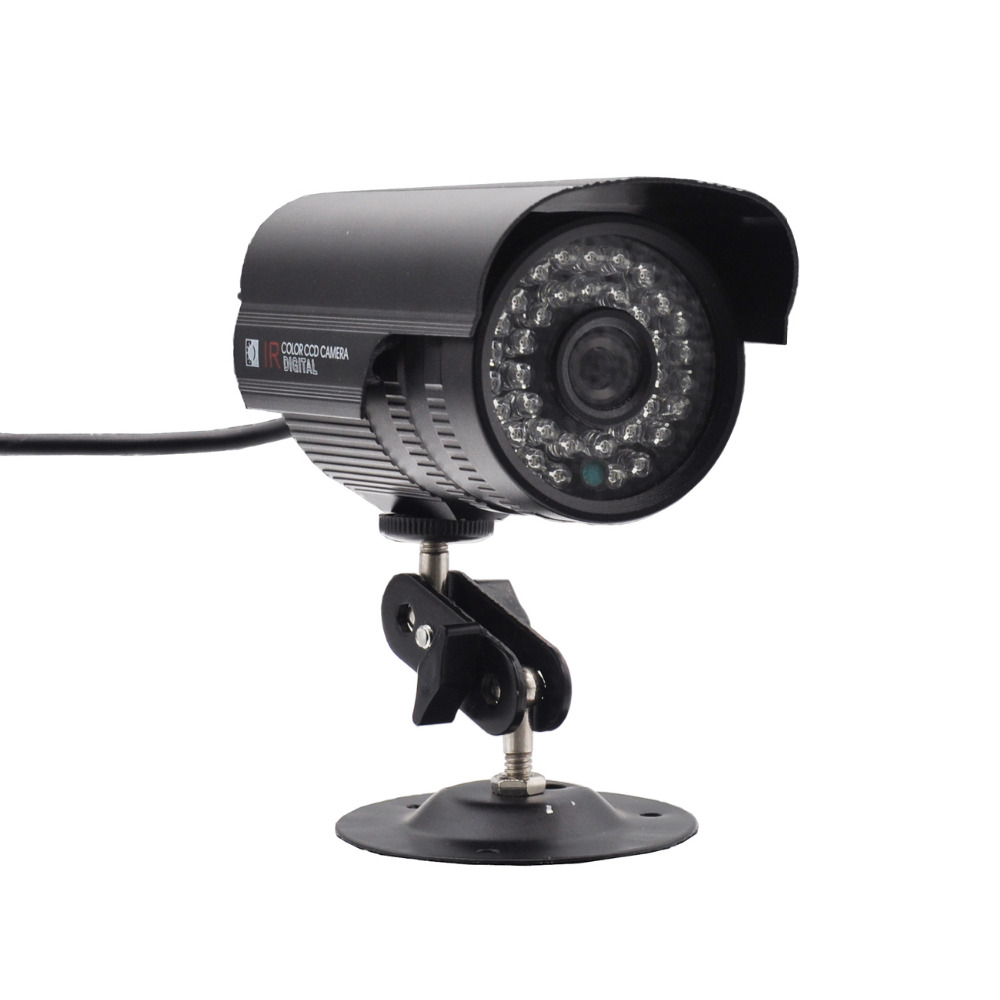 Wired CMOS 800TVL PAL NTSC Closed System Security Surveillance 2.8mm 100 Degree Wide Angle Lens Outdoor Waterproof Home Cameras 18 5mm 300kp cmos waterproof wide angle wired car rearview camera pal dc 12v