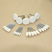 25 PCS Accessories Dremel 3000 With handle Polishing Wheel and Cone Kit Buffing Burr Set for Dremel Rotary Tool set