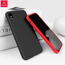 For iPhone Xs Max Xr Xs 2018 Case, Xundd Liquid Silicone full shockproof Armor cover for iPhone 7 8 plus 7 10 XS case fundas