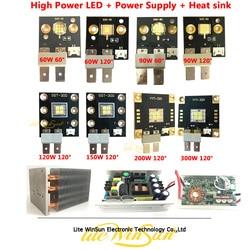 Litewinsune SSD-90 SST-300 YYT-320 High Power Emitter LED DIY Project Lichtbron Heatsink LED Drive Voeding Accessoires
