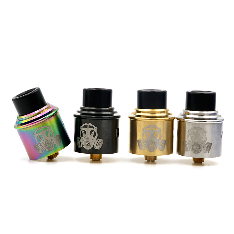 Apocalypse GEN 2 RDA Atomizer With Wide Bore Drip Tip 24mm vaporizer 4 Colors Fit 510