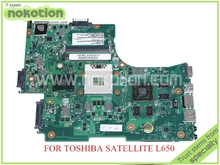 6050A2332301-MB-A02 For toshiba satellite L650 laptop motherboard HM55 DDR3 ATI HD5650M SPS V000218020 PN 1310A2332305