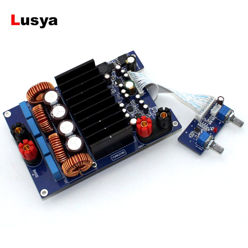 Subwoofer Audio Amplifier TAS5630 OPA1632DR TL072 600W 2.1 Class D Digital Amplificador APM board DC48V