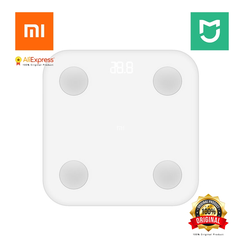 Xiaomi Original Mijia Mi Smart Body Fat Scale 2 Mifit APP & Body Composition Monitor With Hidden LED Display And Big Feet Pad body composition and physiological function in women