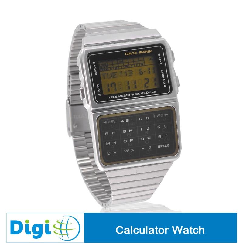 Digitalo 3000 Calculator Watch Time And Date Display Calculator