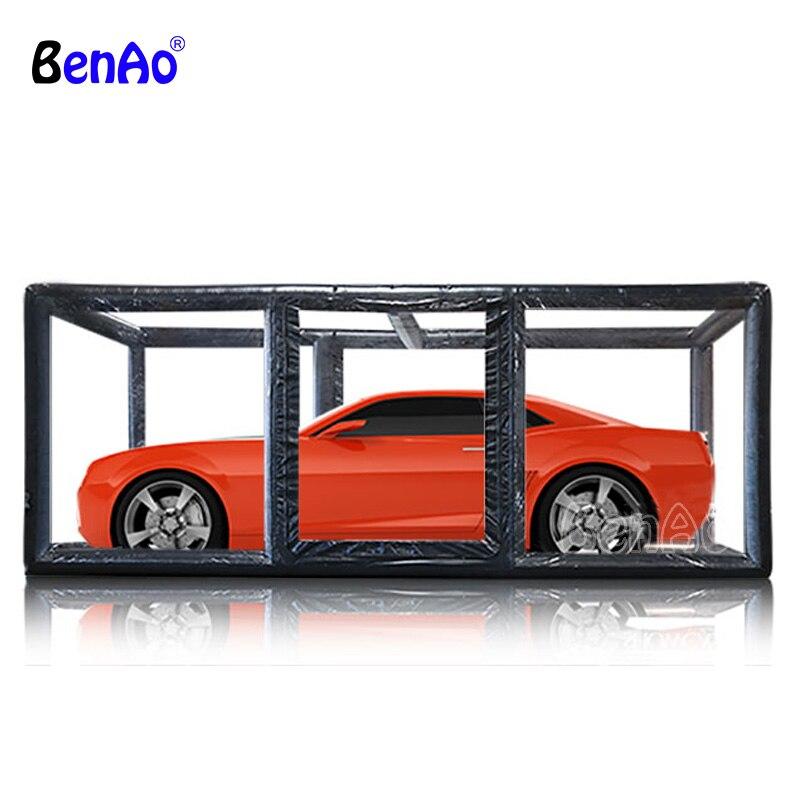 Tente gonflable transparente de fabrication professionnelle de CA006 pour la voiture, bâche de voiture gonflable de bâche de PVC à vendre, tente gonflable