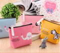 Fashion Cartoon Coin Wallet Women Travel Card Holder Wallet PU Leather Purse with Zipper