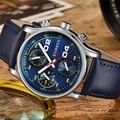 Curren relojes de los hombres ocasionales moda montre homme militar ejército de negocios reloj masculino relojes de cuarzo reloj de pulsera deportivo de cuero