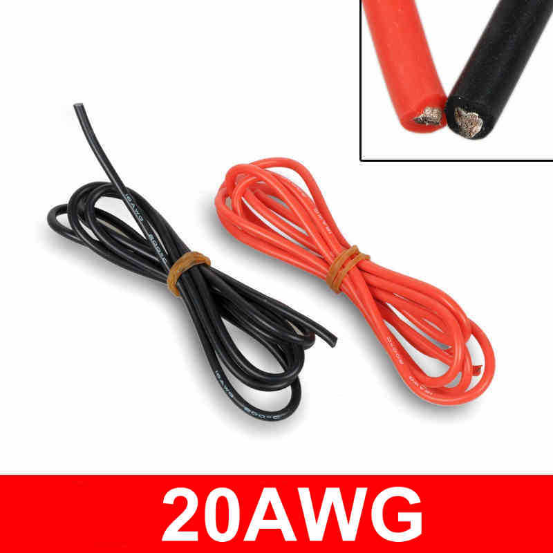 20 AWG Silicone Wire 20 Gauge Silicone Wire Flexible Silicone Wire ...