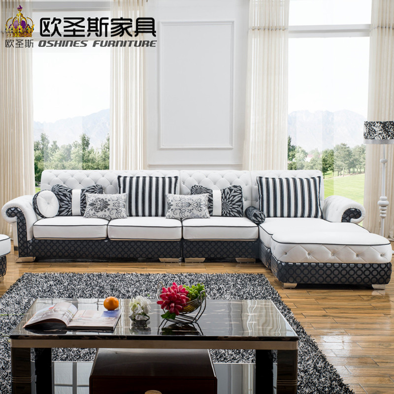 l shaped post modern italy genuine real leather sectional latest corner  furniture living room sofa set designs pictures prices in Living Room Sofas  from. l shaped post modern italy genuine real leather sectional latest