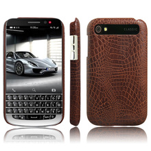 KSQ Hot Selling Crocodile Pattern PU Leather Mobile Phone Cases Cover For BlackBerry Classic Q20 Case Phone Back Cover Fundas