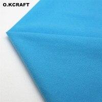 50 150cm Light Blue Solid Color Fleece Fabric Tilda Plush Cloth Anti Pilling Velvet Fleece Doll