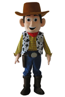 Factory direct sale Toy story woody mascot Cartoon mascot costume cartoon mascot adult size Free shipping