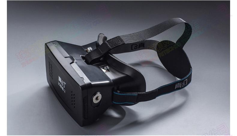 F17697 RITECH II Hoofd Mount Versie VR Virtual Reality Bril Magneet Controle 3D Films Games Goggle Karton voor 3.5- 6 telefoon