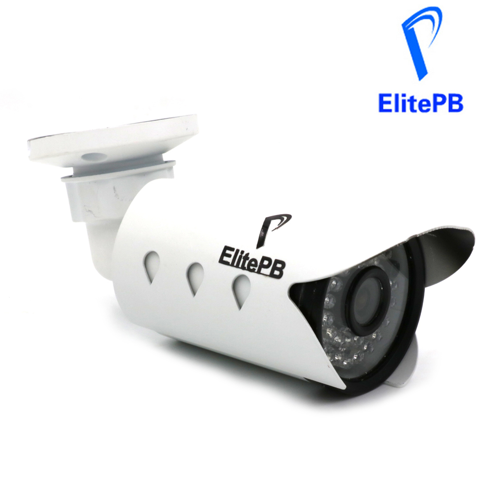 ElitePB 2MP Security IP Camera Outdoor CCTV Full HD 1080P 2.0 Megapixel Bullet Camera IP IR Cut Filter ONVIF 36 Array LEDs