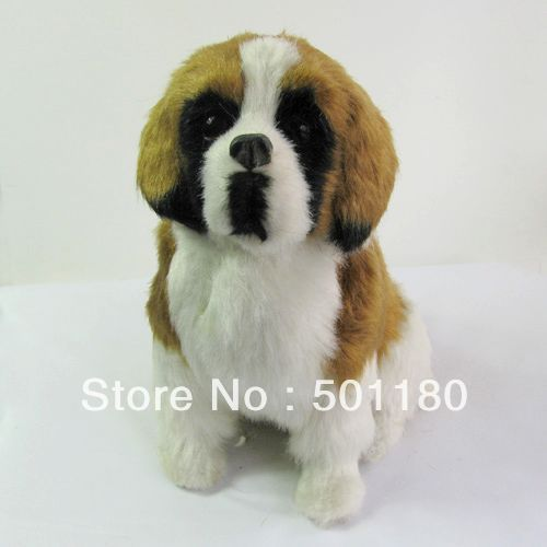 free shipping dog model artificial