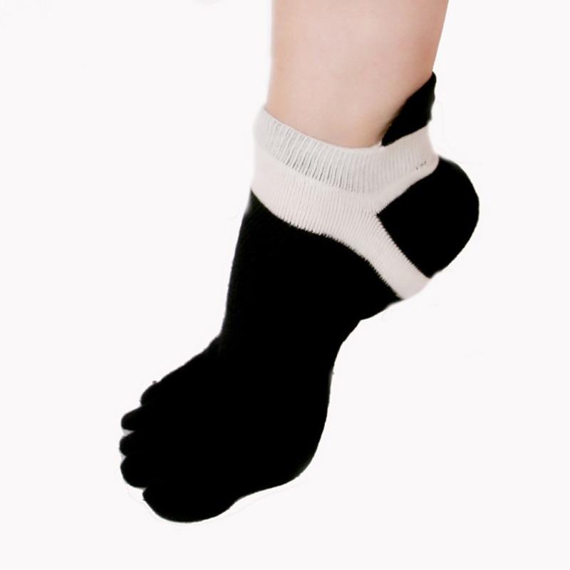 High Quality Mens Invisible Toe Socks Breathable Five Finger Socks No Show Socks Non-slip Novelty Ankle Socks Chaussette Homme