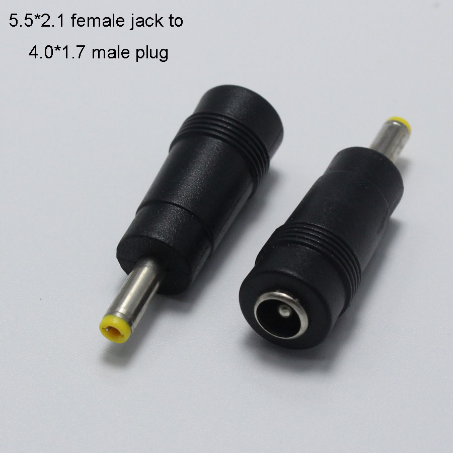 Computer & Office High-quality New Dc Power Jack 5.5 X 2.1mm Female To 6.0 4.8 4.0 3.5 3.0 2.5 1.7 1.1 0.7male Plug Multi-package
