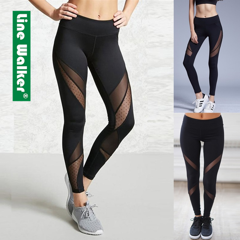 Yoga Pants Women Leggings For Fitness Mesh Patchwork Push Up Legging Gym Booty Sport Tights Sportswear Running Legency Yoga Pants Aliexpress