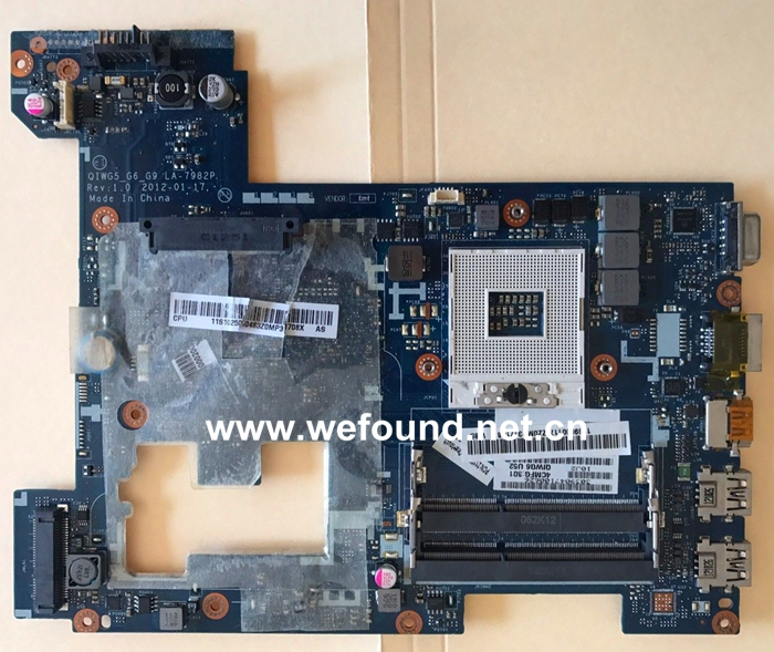 laptop Motherboard For lenovo G580 LA-7982P System Board Fully Tested fully tested for lenovo g580 qiwg5 la 7982p laptop motherboard la 798