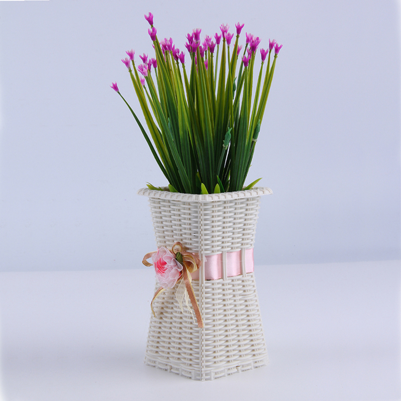 alto qualtiy unid delicada decoracin del hogar florero plstico florero diseado estrenar v