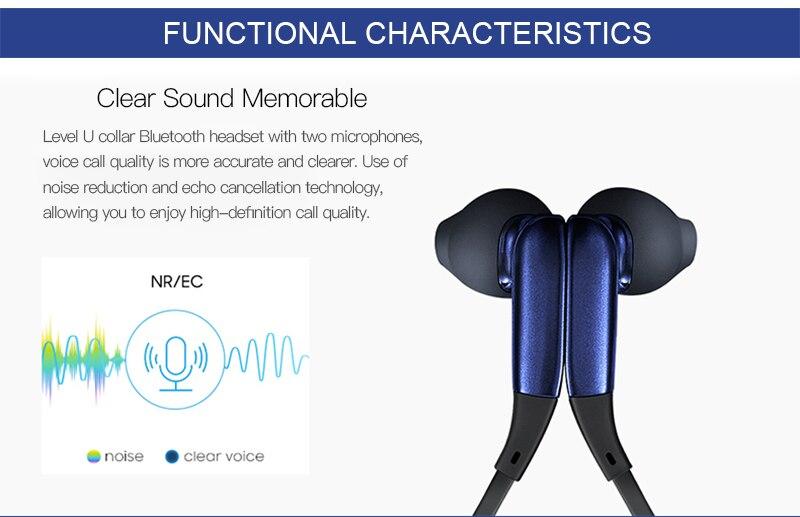 Samsung nível u bluetooth fones de ouvido