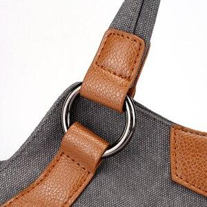 Image 5 - 2020 Nieuwe Canvas Schoudertassen Vrouwen Casual Messenger Bags Hoge Kwaliteit Dames Totes Handtassen Vrouwelijke Crossbody Tas Bolsas