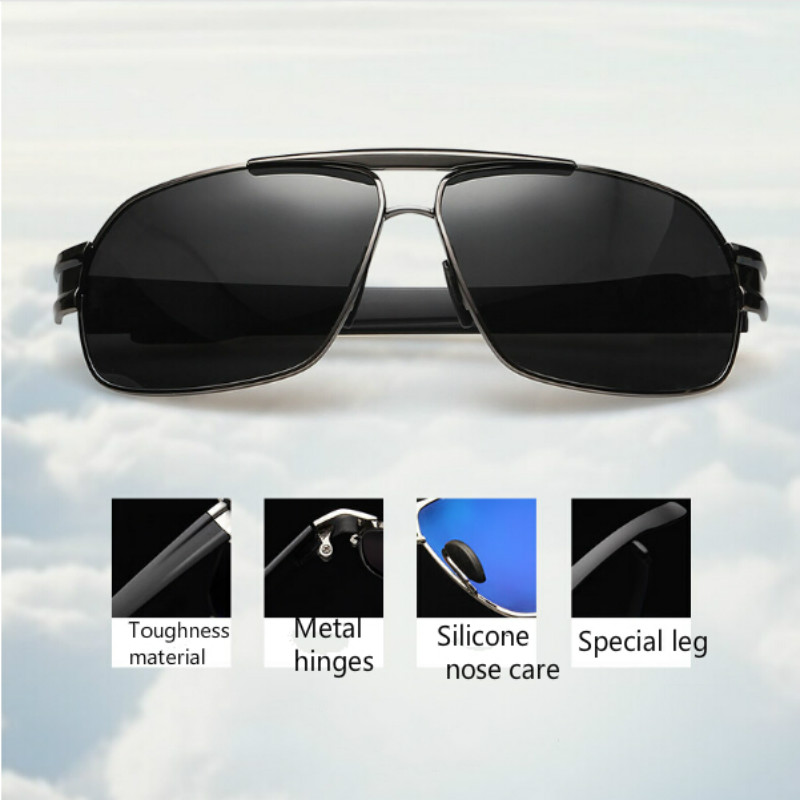 Outdoor Sport Fishing Sunglasses Mens Cycling Climbing Sun Glasses Polarized UV400