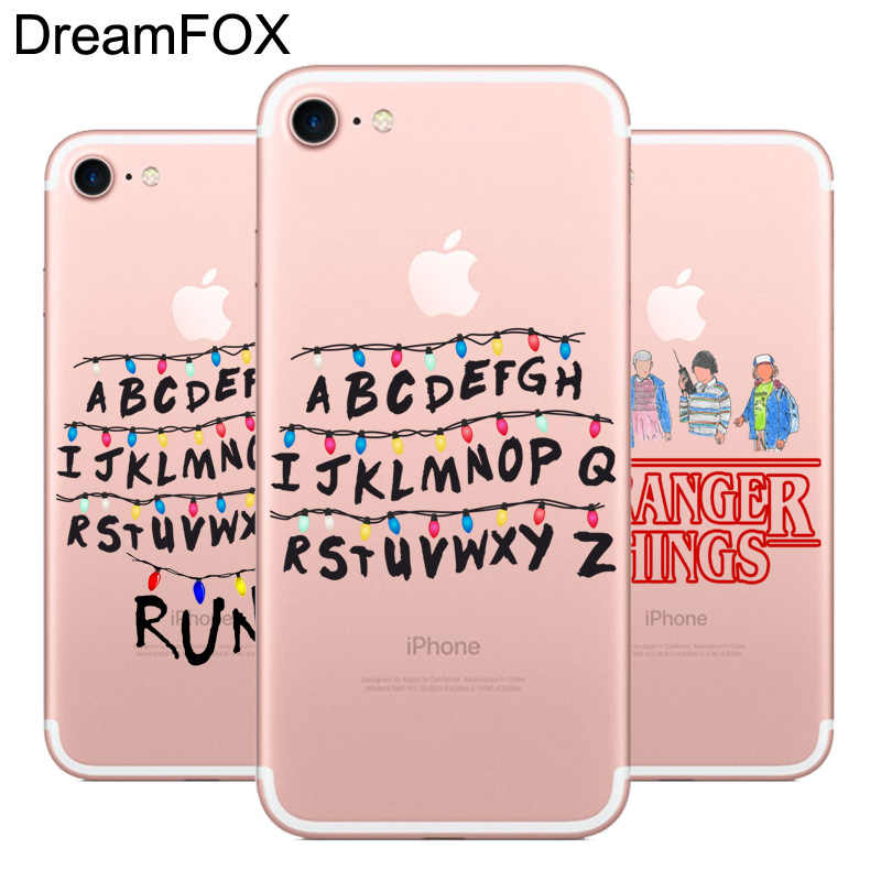 DREAMFOX L548 Stranger Things Soft TPU Silicone  Case Cover For Apple iPhone XR XS Max 8 X 7 6 6S Plus 5 5S SE 5C 4 4S