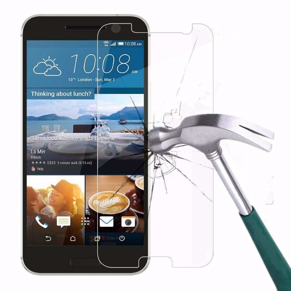 2-pack For HTC Desire 628 Glass Screen Protector 2.5D 9H Hard Tempered Glass For HTC Desire 628 Dual SIM Glass Film Cover