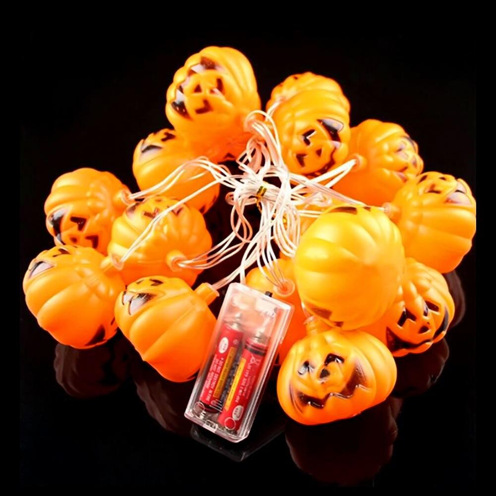 35m 16 led string light halloween pumpkin garland light decorations hanging halloween decoration party supplies - Halloween Decorations Cheap