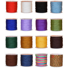 45M/roll Chinese Knot Cord String Cord 0.8mm Dia, For DIY Beading Wire Rope Handicraft Tool Hand Stitching Silk Tassel Thread