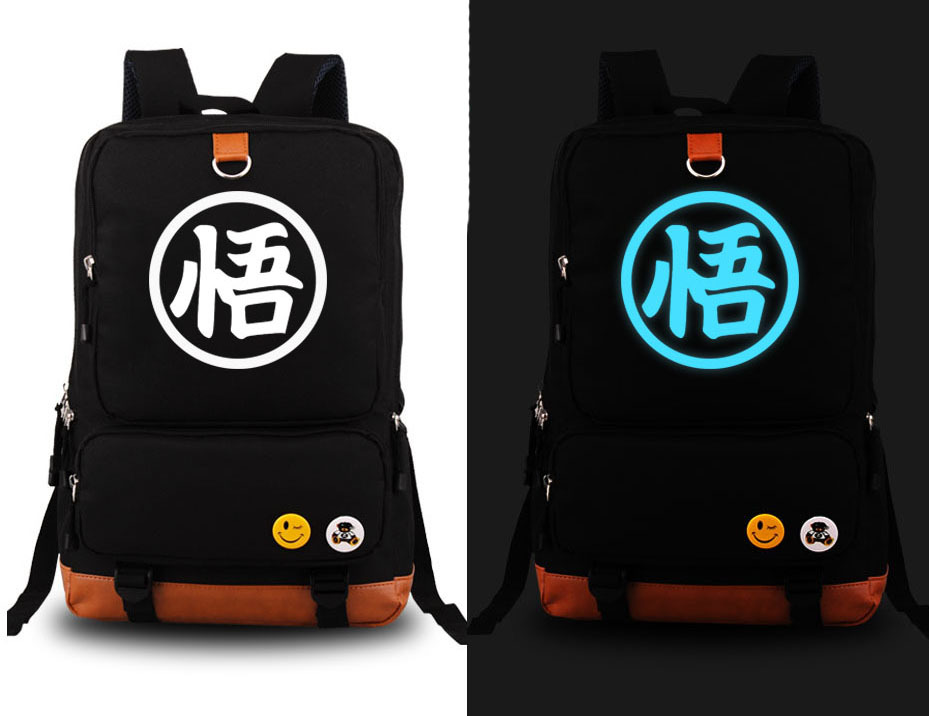 anime Dragonball Z Son Goku Cosplay Backpack Dragon ball Kakarotto Canvas Student Schoolbag Unisex Travel Bags 5 style packsack