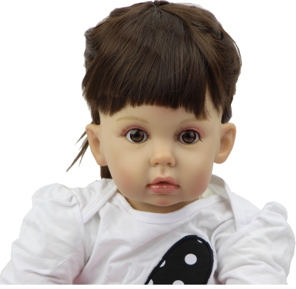 """20/"""" Lifelike Emulational Baby Girl Doll Toy Props Display Vinyl// Can stand"""