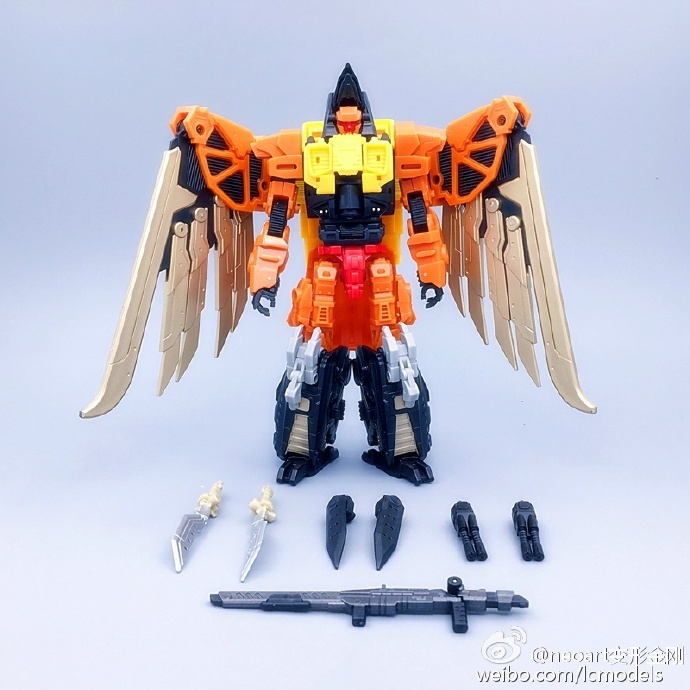 все цены на  MODEL FANS IN-STOCK neoart toys ko MMC Transformation robot  Predaking Divebomb freeshipping  онлайн