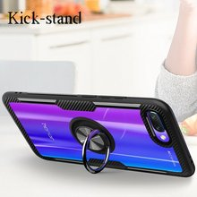 все цены на Finger Ring Holder Cover for Huawei Mate 20 PRO X Case Soft Silicone P20 Pro Lite Honor 7X 8X Max Play Case TPU Back Cover Coque