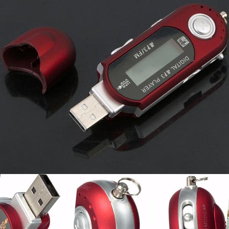 FREE Mini 8GB LCD MP3 Player FM Radio 8G USB Flash Drive