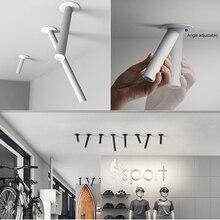 Modern LED tavan ışık 7W kısılabilir ışıklar çapı 300mm mutfak şirket masa boru tüp lamba yemek odası Bar sayacı dükkanı