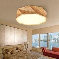 צורת עץ יצירתי מחקר מנורה מעץ מלא בסגנון יפני אישיות עץ מוצק אור מנורת גיאומטרי הדפסת יומן נורדי A1
