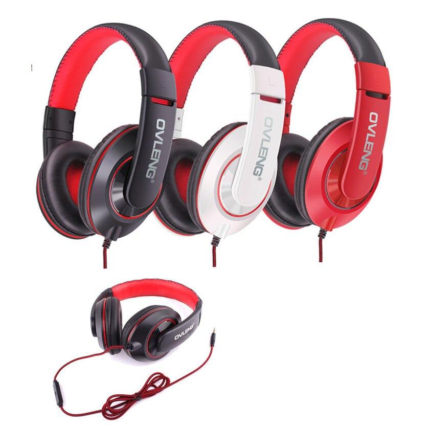 Best Price Original OVLENG X13 Adjustable Headphones MP3 Stereo Over Ear Earphones DJ NEW
