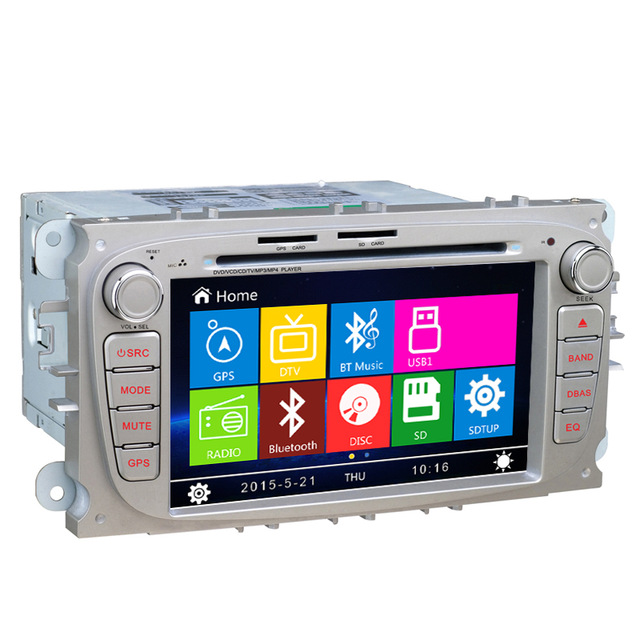 Free Shipping 7 inch Car DVD GPS Navigation stereo For Ford Focus Mondeo C Max S