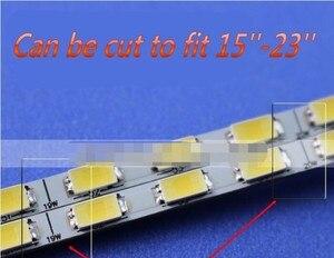Image 3 - Nowy!! 10 sztuk uniwersalny zestaw aktualizacji podświetlenia LED do monitora LCD 2 listwy LED wsparcie do 24 540mm darmowa wysyłka