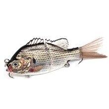 Hot Bionic Lure Fishing Bait Far Throwing Soft Tackle Hook Saltwater DO2