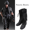 Noctis Lucis Caelum Cosplay Boots Final Fantasy XV Cosplay Shoes Men Boots Halloween Christmas Party Game Accessorie Custom Made