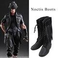 XV Noctis Lucis Caelum Cosplay Botas de Final Fantasy Cosplay Zapatos Botas de Los Hombres de Halloween Fiesta de Navidad Accesorio Del Juego Por Encargo